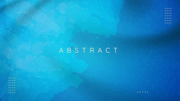 抽象的なテクスチャとミニマリストの青い背景