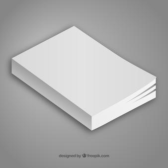 Minimalist book template