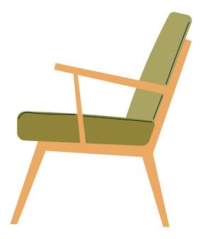 ホームインテリアデザインベクトルのミニマリストの椅子