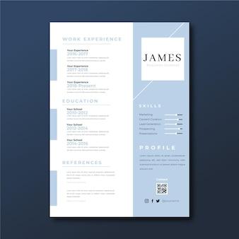 ミニマリストのデュオトーンジェームズがビジネスの一般的なインフォグラフィックを再開