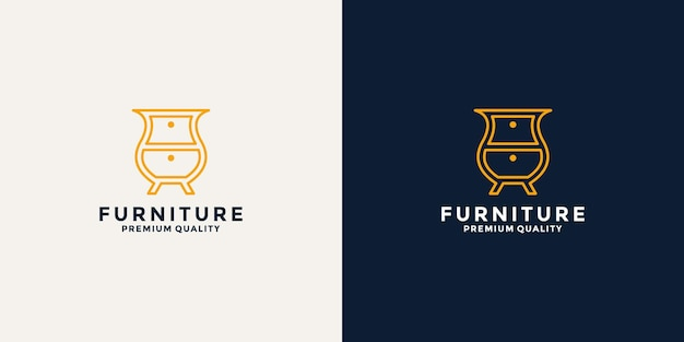 Minimalist furniture logo design inspiration for your business