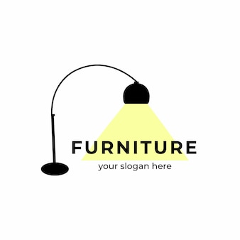 Minimalist furniture logo
