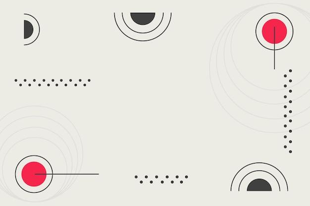 Minimalist geometric background Free Vector
