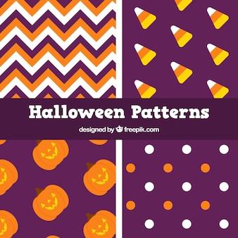 Minimalist halloween patterns