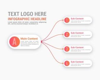 Minimalist Light Infographic