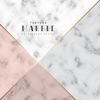 Minimalist marble background with color and gold in line