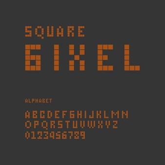 Минималистский современный алфавит или шрифт случайные типографские шрифты шрифт логотипа premium векторы