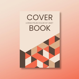 Minimalist and modern book cover