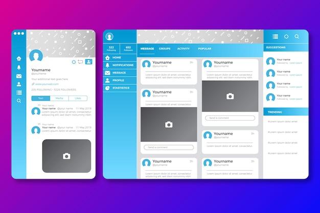 Minimalist offline twitch interface