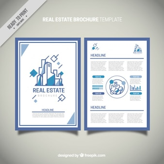 Minimalist real estate flyer