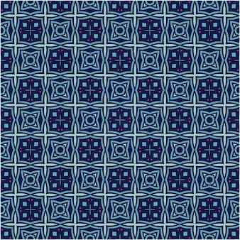 민족 스타일의 미니멀리스트 원활한 패턴 디자인