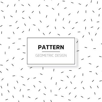Minimalist short lines pattern