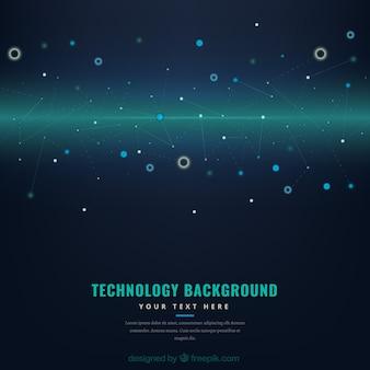 Minimalist technological background