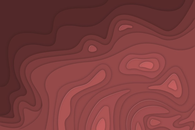 Minimalist topographic map background