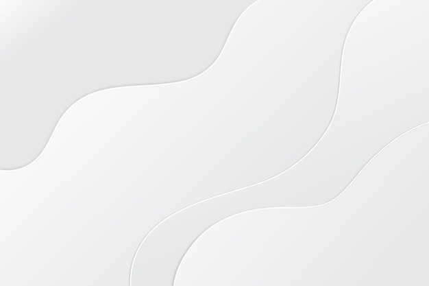 Minimalist white abstract background