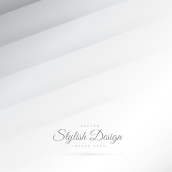 Minimalist white background with stripes