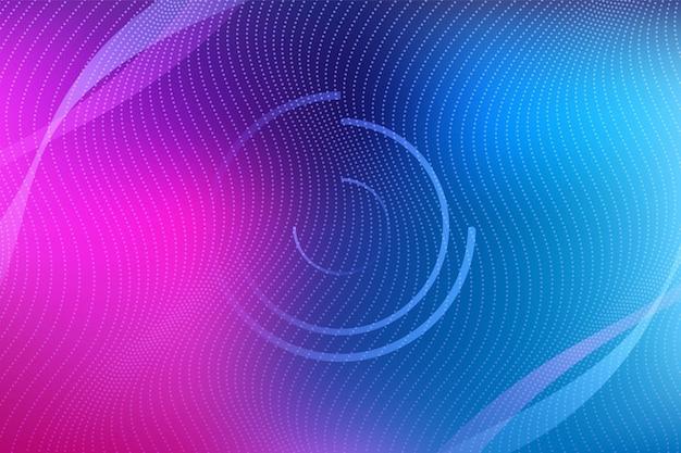 Минималистичный фон с динамическими волнами