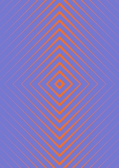 Minimalistic colorful abstract cover