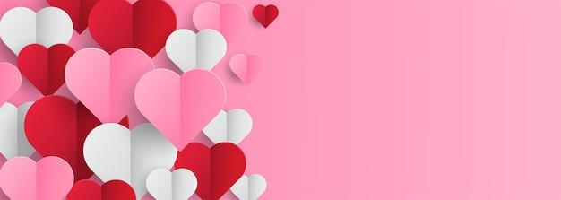 Minimalistic valentine's day background