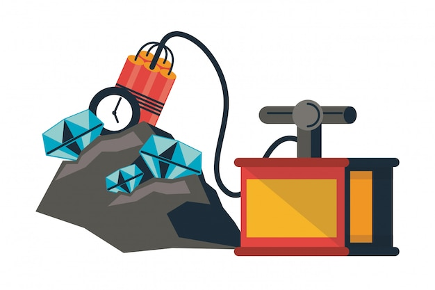 Mining tools and elements