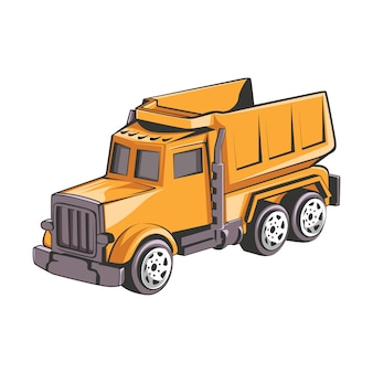 Mining truck industrial construction vehicle