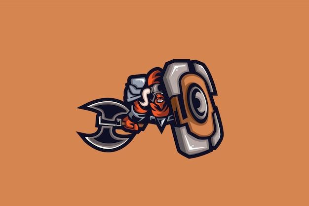 Mino warrior e sports логотип