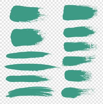 Mint blot set concept isolated