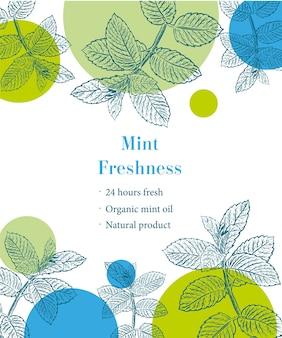 Mint freshness sketch template