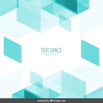 Mint polygonal background