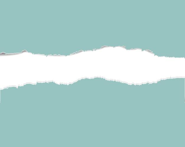 Мятная рваная бумага