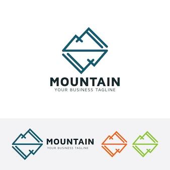 ミラー山ベクトルロゴテンプレート