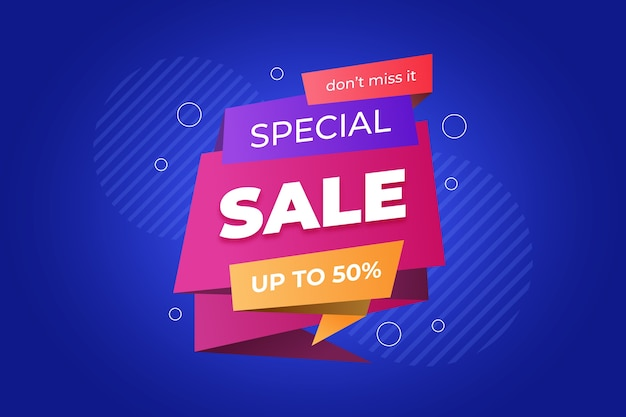 Do not miss special sale banner design