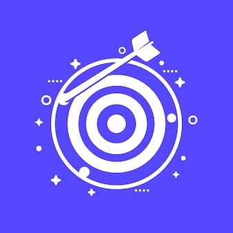 Missed target icon for web