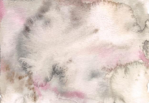 Туманный мягкий драк серый розовый акварельный фон