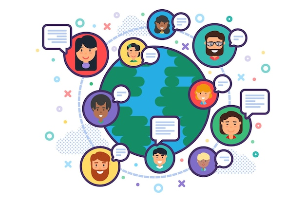 믹스 인종 다민족 비즈니스 사람들 팀 의사 소통