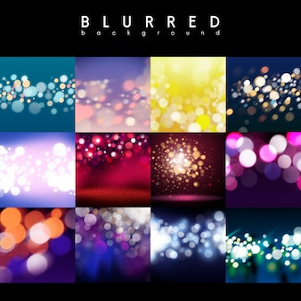Mixed bokeh backgrounds