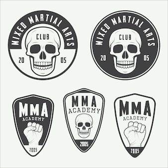 Mixed martial arts logo