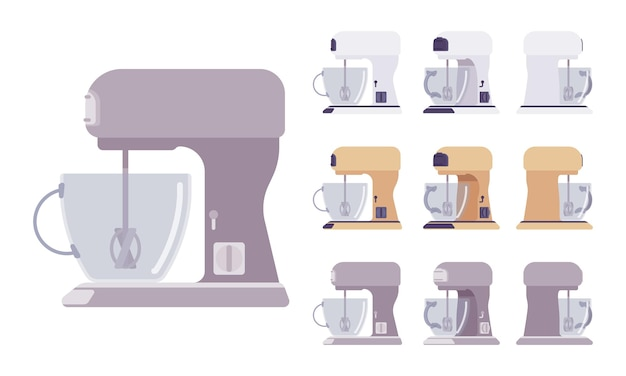 ミキサーセット、キッチン、カフェ設備