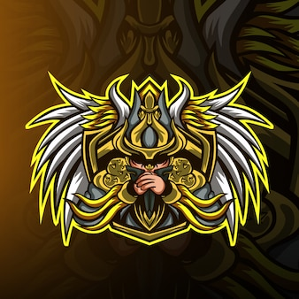 Mob squad gaming mascot logo