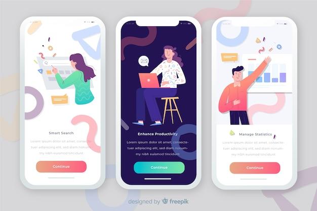 Mobile app concept