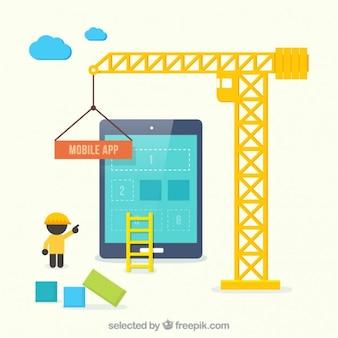 Mobile app construction