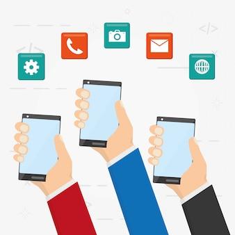モバイルアプリ開発