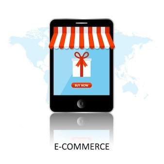 Mobile app for online shopping