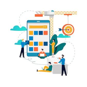 Mobile application development, software api prototyping