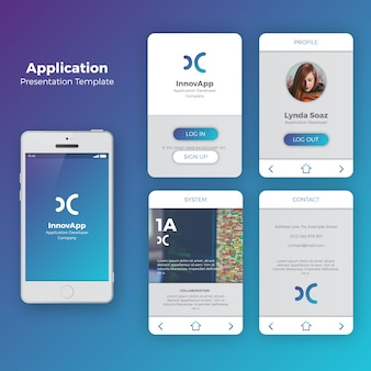 insurance mobile app template  Ui Vectors, Photos and PSD files | Free Download