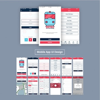 Mobile application for subway