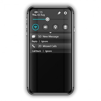 Mobile application user interface notification