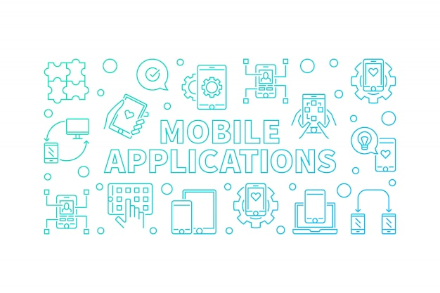 Mobile applications background
