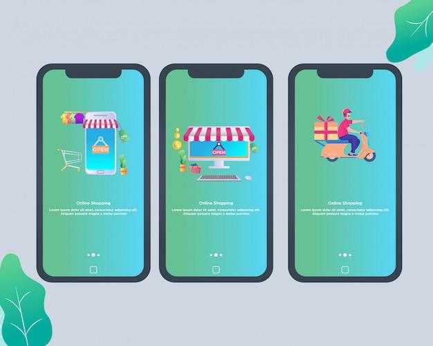 Mobile apps for online shop