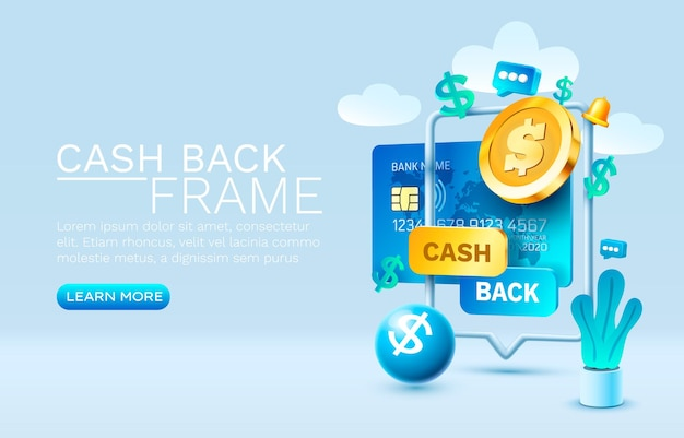 Mobile cash back service financial payment smartphone mobile screen technology mobile display light ...